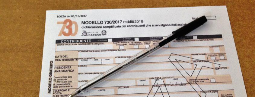 Novit modello 730 2017 caf patronato roma for Modulo 730 anno 2017